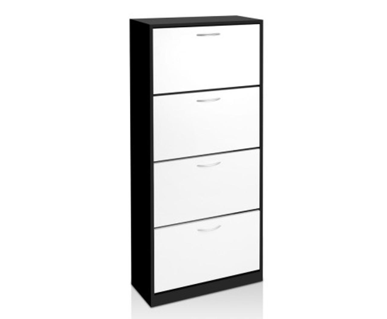 Surprising Stefan 4 Tier Mirror Shoe Cabinet Black Australias Download Free Architecture Designs Grimeyleaguecom