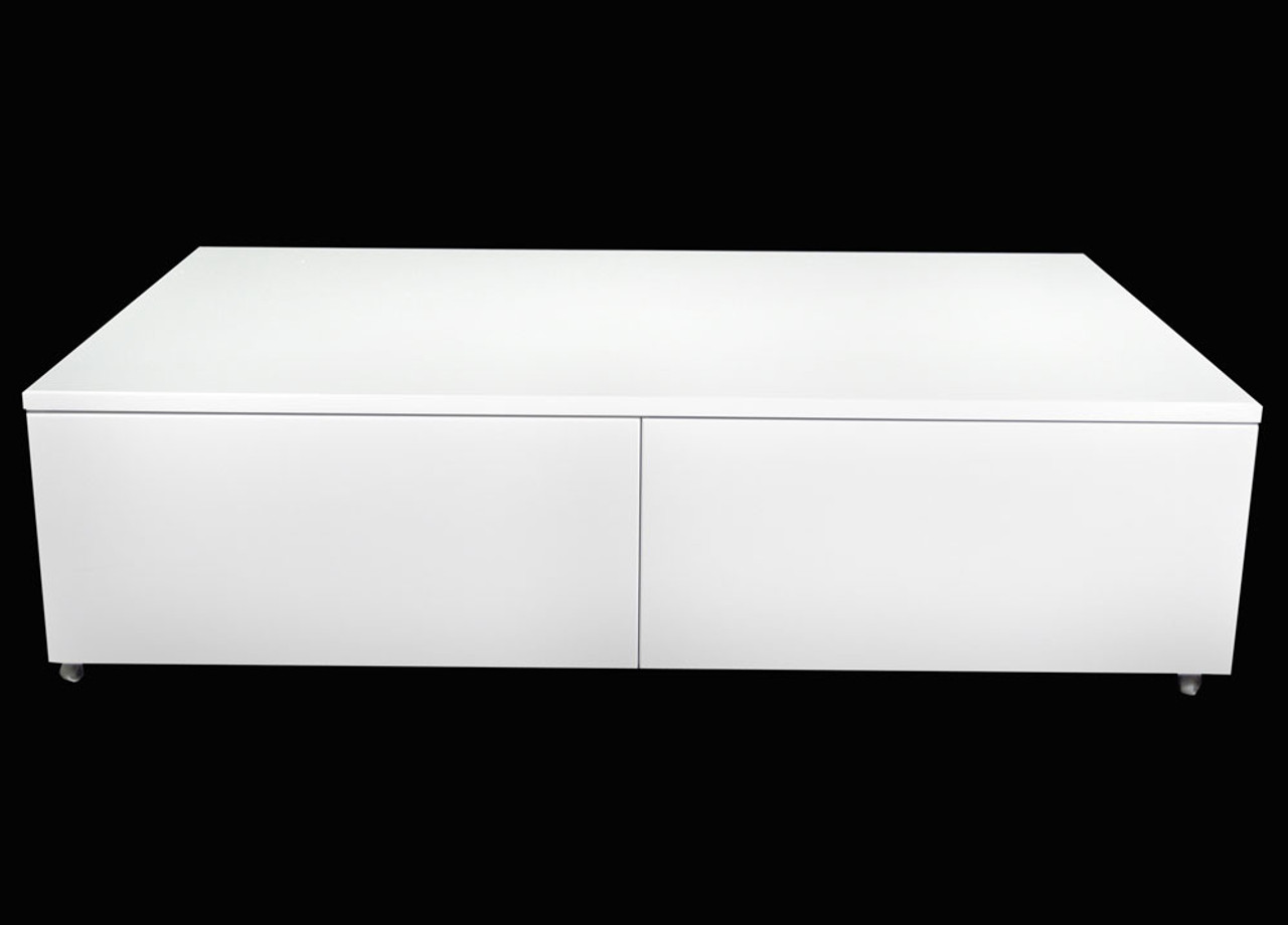 Isabella Coffee Table 1200 W X 760 D High Gloss White
