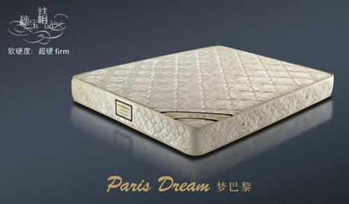 DOUBLE PARIS DREAM ENSEMBLE (BASE & MATTRESS) - SUPER FIRM