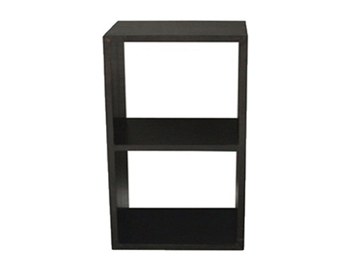 2 CUBE SHELF (CU-002-RPN) - 890(H) x 460(W) - MAHOGANY OR CHOCOLATE