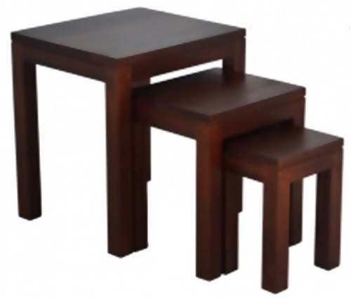 AMSTERDAM  NEST OF 3 TABLES  (NT 300 TA)  - ASSORTED COLOURS