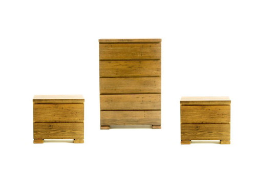 BROOKLYN 3 PIECE CHEST SET - RUSTIC