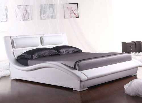 KING (2840#) LEATHERETTE BED - ASSORTED COLOURS AVAILABLE