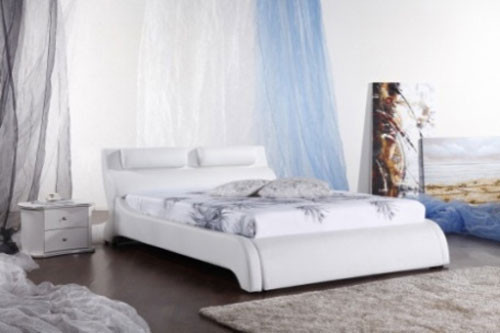 KING (G961#) LEATHERETTE BED - ASSORTED COLOURS AVAILABLE