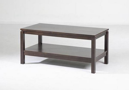 CUBIST (VCT-002) COFFEE TABLE -CHOCOLATE OR  LIGHT HONEY -  960(W) X 500(D)