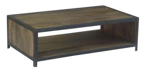 MONTEGO (MG-003) COFFEE TABLE - 1300(W) X 750(D) - ANTIQUE NATURAL