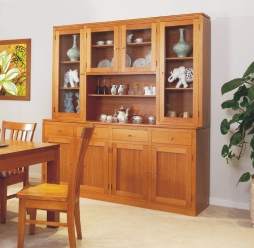 JOE 4 DOOR BUFFET WITH 4 DRAWERS (HUTCH NOT INCLUDED) - 900(H) X 1870(W)  - CHOICE OF COLOURS