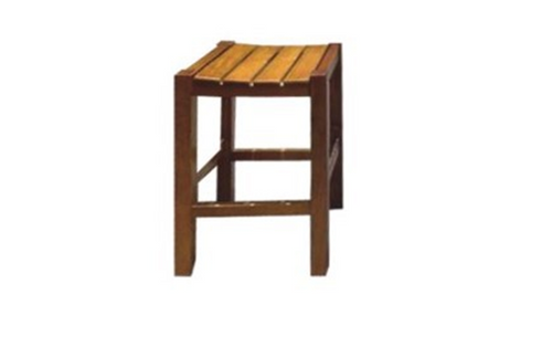 WHOLEMEAL BAR STOOL WITHOUT BACK SUPPORT - SEAT: 680(H) - IMPORT COLOUR (AL1) - GOLDEN BROWN