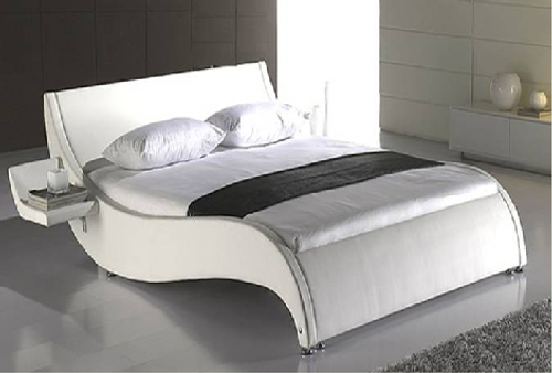 DOUBLE ALTHEA LEATHERETTE BED (1013) - ASSORTED COLORS