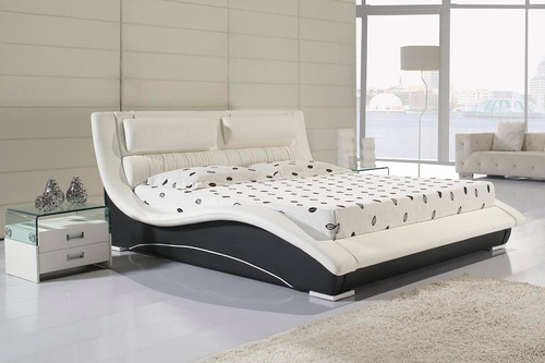 DOUBLE CLEOPATRA SELENE LEATHERETTE BED (8022) - ASSORTED COLOURS
