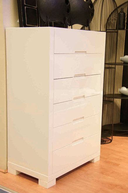 METRO (BE-961) TALLBOY - HIGH GLOSS WHITE
