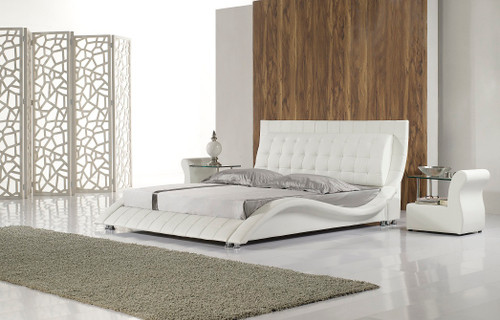 DESIRE (3025) DOUBLE OR QUEEN 3 PIECE BEDSIDE BEDROOM SUITE (WITH MODEL-1 BEDSIDES) - ASSORTED COLORS