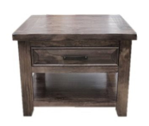 HERITAGE LAMP TABLE (HTGLT) - GREY WASH (#501)