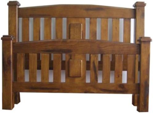QUEEN CENTURY BED (CFFQB) - NUTMEG (#216)