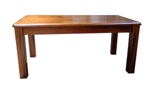 CENTURY 1.8 (CFF18T) DINING TABLE ONLY (WITHOUT DINING CHAIRS) - 1800(L) X 900(W) - NUTMEG (#216)