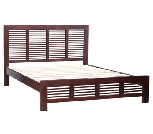 DOUBLE MANLY BED (MDB) - BALTIC (#215), WALNUT (#219) OR GREYWASH (#501)