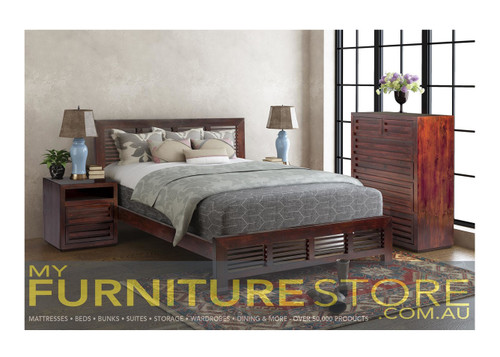 King Single Amina Timber Fabric Bed 14 15 15 19 1 2 Tone My Furniture Store Furniture And Bedding Super Store Australia