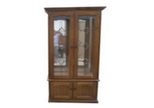 CHINA 2 PIECE DISPLAY UNIT (Z-9) (CAMDEN) - 1500(H) x 900(W) - BALTIC(#215) OR WALNUT(#219)