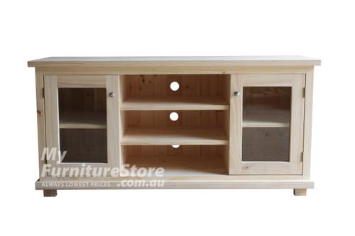 ARNCLIFFE 2 DOOR TV UNIT -740(H) X 1500(W) -  ASSORTED COLOURS