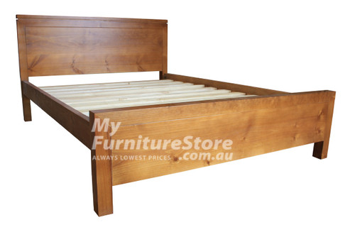 KING SINGLE CELINE (AUSSIE MADE) BED - WHITE OR ANTIQUE WHITE (NOT AS PICTURED)
