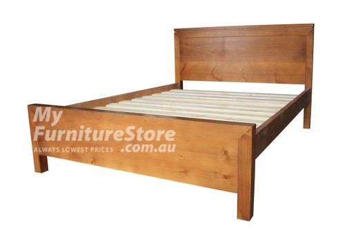 DOUBLE CELINE BED - ASSORTED COLOURS