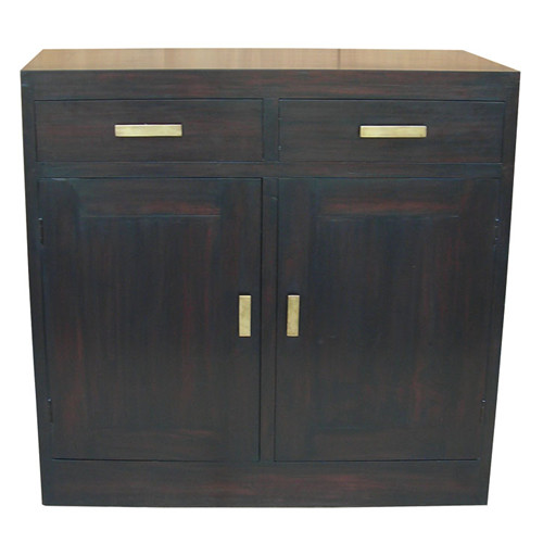 MILAN  2 DOOR 2 DRAWER BUFFET  ( SB 202 PNM) 900(H) X 920(W)-MAHOGANY OR CHOCOLATE