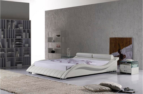 APURIA KING 3 PIECE BEDSIDE BEDROOM SUITE - LEATHERETTE - ASSORTED COLOURS