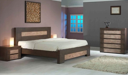 CHENIN KING 4 PIECE TALLBOY BEDROOM SUITE - ASHTON CASTLE