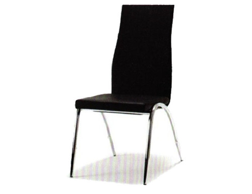 JESSE STACKABLEDINING CHAIR - BLACK OR WHITE
