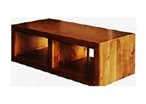 CUBE COFFEE TABLE - 1180(W) X 560(D) - BLACKWOOD (2039) OR WALNUT (2040)
