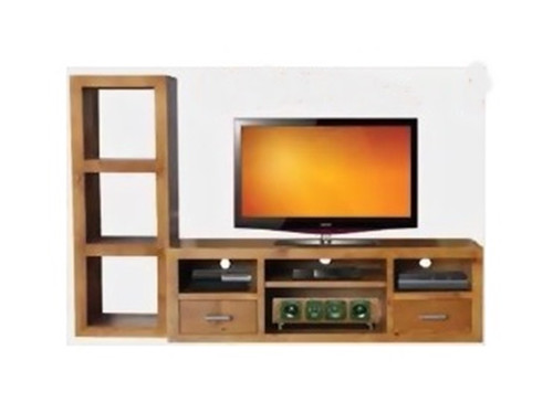 CUBE 1690 TV UNIT - BLACKWOOD (2037) OR WALNUT (2038) -530(H) X 1690(W)