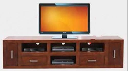 CUBE  TV UNIT -   530(H) X 2120(W) - BLACKWOOD (3128)  OR WALNUT (3127)