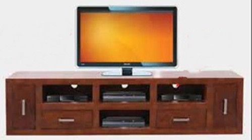 CUBE  TV UNIT -   530(H) X 2120(W) - BLACKWOOD (3128)  OR WALNUT (3127)