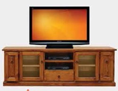 ACE TV UNIT - 670(H) X 1980(W) -  BLACKWOOD (1189)