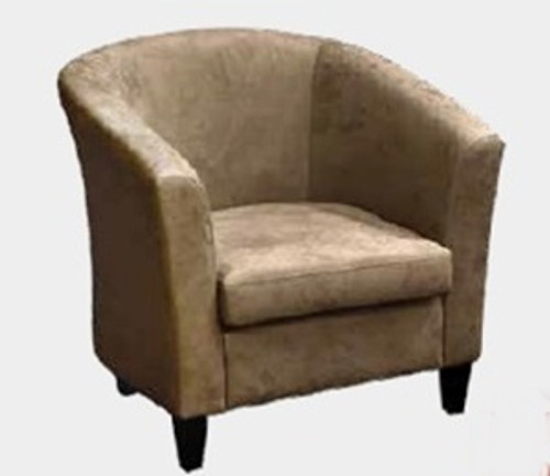 HELEN TUB CHAIR - MOCHA (1012) OR SADDLE (1013)