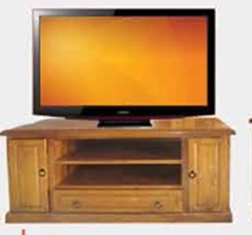 LEE LOWLINER TV UNIT -610(H) X 1250(W)- BLACKWOOD (1066) OR WALNUT (1114)