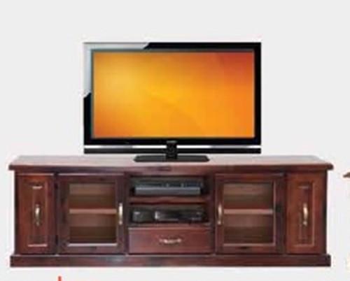 JUNE TV UNIT - 670(H) X 1980(W) - RUSTIC (1190)
