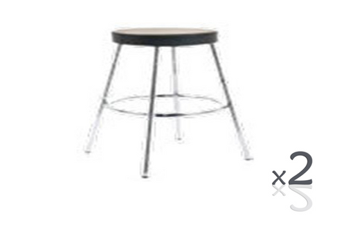 MARS BAR STOOL (SET OF 2) - BLACK (3364) OR WHITE (3365)
