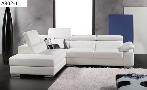 GARY (A302-1) CORNER LOUNGE SUITE - ASSORTED COLOURS AVAILABLE