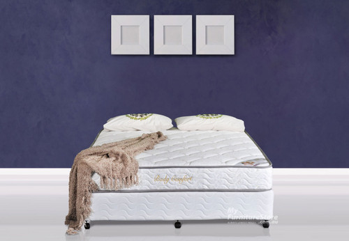 DOUBLE BODY CARE MATTRESS - MEDIUM FIRM (WH)