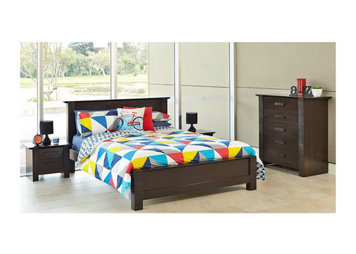 ASTON QUEEN 4 PIECE  TALLBOY BEDROOM SUITE