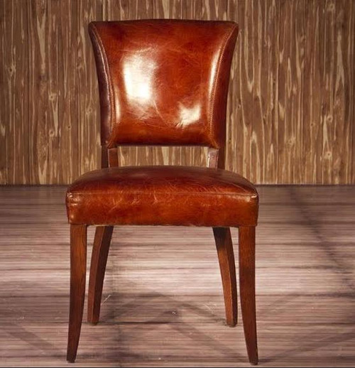 ACERRA (2021) 1 SEATER FULL LEATHER CHAIR