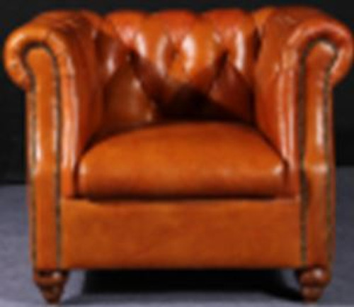VITERBO (2029) 1 SEATER FULL LEATHER CHAIR