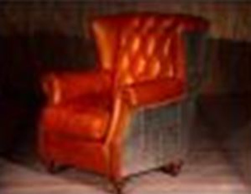 CESENA  (2032) 1 SEATER  CHAIR  -  FULL LEATHER