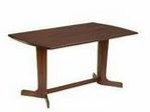 T520 MAYFAIR  TABLE WITH DUCK LEG  -1460(L) X 840(W) -  ANTIQUE OAK