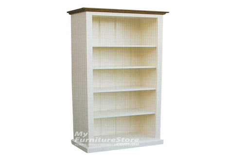 COLONIAL BOOKCASE (7X3) - 2100(H) x 900(W) - ASSORTED COLOURS