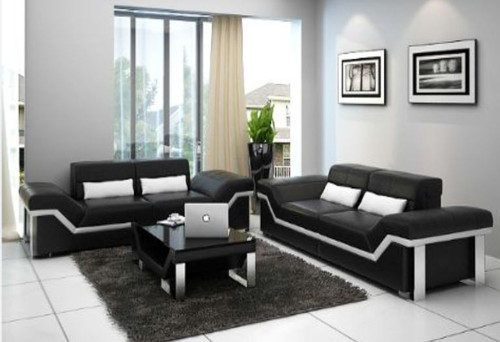 BEAZ (K5007D)  3 SEATER + 3 SEATER +  COFFEE TABLE - CHOICE OF LEATHER AND ASSORTED COLOURS AVAILABLE