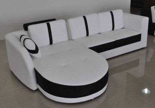 DINAN (A1122B) CHAISE SUITE - CHOICE OF LEATHER AND ASSORTED COLOURS AVAILABLE