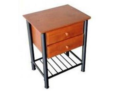 JERRA 2  DRAWER BEDSIDE  TABLE