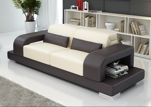 DAYRELL (G8006D) 3  SEATER ONLY  - CHOICE OF LEATHER AND ASSORTED COLOURS AVAILABLE